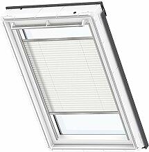 VELUX Original Plissee Dachfenster, Y85, Uni Weiß