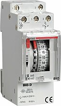 Vemer ve087300Zeitschalter elektromechanisch bio-d, hellgrau