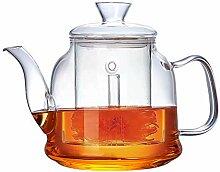 Vencer Gute Glas-Teekanne mit Glas-Ei & Deckel,