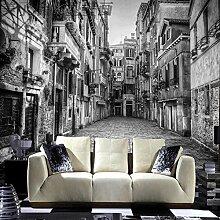 Venedig alte lane 3D tapete stereo vliestapete kreative sofa hintergrund wandbild tapete 450cmX350cm