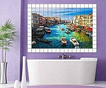 Venedig Fliesenaufkleber 10 15 20 25 cm