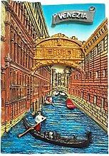 Venedig Italien Kühlschrank Magnet 3D Travel
