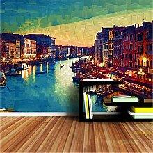 Venedig Stadt Malerei Tapete 3D Wandbilder Tapeten