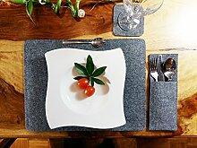Venetto 2-er / 4-er Sets Platzmatten Tischmatten