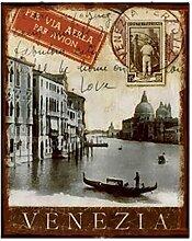 VENEZIA Nostalgie Italien Blechschild