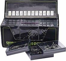 Vengo 24 STK Metall Knobelspiele Set, Rätsel