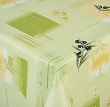 Venilia Olive grün Tischdecke Tischtuch