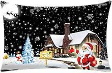 VENMO Weihnachten Rechteck Baumwolle Kissenbezüge
