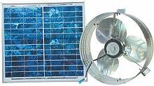 Ventamatic VX2515SOLUPS Solar Gable Attic Ventilator with 12.6-Watt 18-Volt DC Motor and 12.6-Watt Panel by Ventamatic