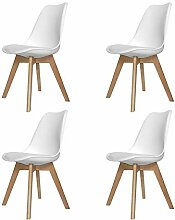 Ventamueblesonline New Tower Wood Stühle mit