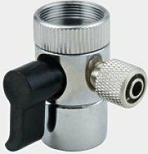 Ventil abzulenken 3/8 Zoll Schlauch f¨¹r Z?hler nach oben Wasser Filter Wasser Purifer RO-System Wasserhahn Adapter abzulenken