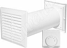 Ventilation Belüftungsgitter heiße Luft Händler Dunstkanal Kanal Lüfterthermosta