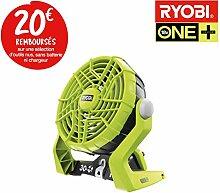 Ventilator 2Geschwindigkeiten Ryobi 18V