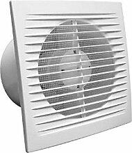 Ventilator Abzieher Luft Bad WC flach 8mm aus