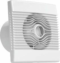 Ventilator Badlüfter Wandventilator Lüfter Ø 100 , 120 , 150 mit Nachlaufrelais , Feuchtesensor Timer , WC Bad Küche , AirRoxy pRemium (Ø 100)