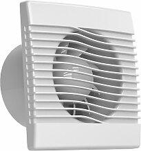 Ventilator Badlüfter Wandventilator Lüfter Ø 100 , 120 , 150 mit Zugbandschalter , WC Bad Küche , AirRoxy pRim (Ø 120)