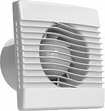 Ventilator Badlüfter Wandventilator Lüfter Ø 100 , 120 , 150 mit Zugbandschalter , WC Bad Küche , AirRoxy pRim (Ø 100)