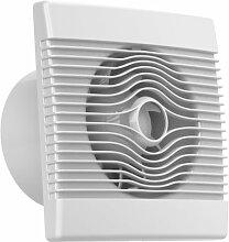 Ventilator Badlüfter Wandventilator Lüfter Ø 100 , 120 , 150 mit Zugbandschalter , WC Bad Küche , AirRoxy pRemium (Ø 120)