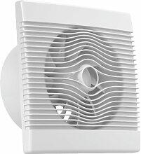 Ventilator Badlüfter Wandventilator Lüfter Ø 100 , 120 , 150 mit Zugbandschalter , WC Bad Küche , AirRoxy pRemium (Ø 150)