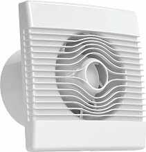 Ventilator Badlüfter Wandventilator Lüfter Ø 100 , 120 , 150 Standard , WC Bad Küche , AirRoxy pRemium (Ø 100)