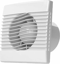 Ventilator Badlüfter Wandventilator Lüfter Ø 100 , 120 , 150 Standard , WC Bad Küche , AirRoxy pRim (Ø 100)