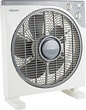Ventilator Box 30cm Standventilator Timer oszillierend 3 Stufen Tristar VE-5956