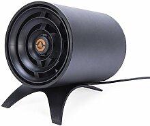 Ventilator Leise & Klein USB kraftvoller Tischventilator Smart Touch mini ventilator windmaschine Lüfter mit 2 Leistungsstufen Schwarz