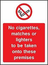 Verboten Anleitung Rauchen keine Zigaretten,