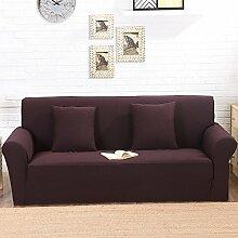 VERCART Abdeckung Sofa-Abdeckung Salon Dekoration Extensible 1 Squa