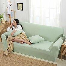 VERCART Abdeckung Sofa Lounge Abdeckung erweiterbar Solid Color 1 Platz 90-140cm