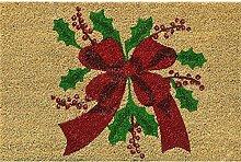 Verdemax 5457rechteckig Weihnachten Blume Design