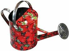 Verdemax 5952WC 5Liter Erdbeeren Design Zink