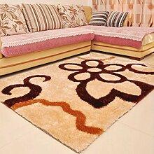 Verdicken Heller Draht Teppich Wohnzimmer Teppich Schlafzimmer Küche Korridor Zuhause Teppich Kaffetisch Teppich , E , 1.2*1.7cm