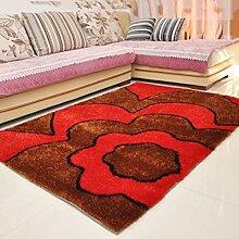 Verdicken Heller Draht Teppich Wohnzimmer Teppich Schlafzimmer Küche Korridor Zuhause Teppich Kaffetisch Teppich , D , 70*1.4cm