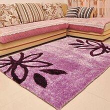 Verdicken Heller Draht Teppich Wohnzimmer Teppich Schlafzimmer Küche Korridor Zuhause Teppich Kaffetisch Teppich , A , 70*1.4cm