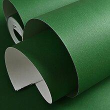 Verdicken Reine Farbe Orange Grün Farbe Grün Vlies Tapete Schlafzimmer Wohnzimmer Tv Hintergrund Wand Tapeten Stern Grün 53Cmx1000Cm