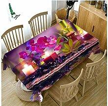 Verdicken Sie Baumwolle Tischdecke kreative 3D
