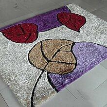 Verdicken Stretch Seide Muster Wohnzimmer Schlafzimmer Kaffetisch Teppich Hotel Korridor Tür Teppich , K , 1.2*1.7cm