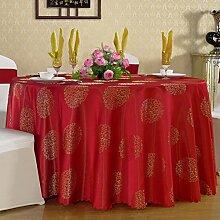 Verdickt Chinesischen Tischdecke/Hotel-restaurant/Quadrat Runde Tischdecke-C 160x200cm(63x79inch)