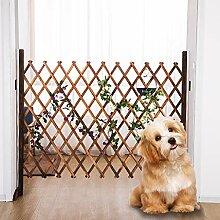 Verdickte Hundezaun einstellbar Gartenzaun