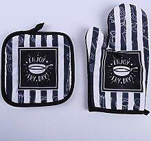 Verdickte Mikrowelle Novenund Handschuhe Home