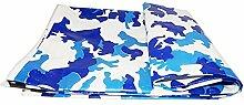 Verdickung der doppelseitigen witterungsbeständigen doppelseitigen Regenproof-LKW-Markisen-Abdeckungs-Abdeckungs-Tuch Regenwasserdichtes imprägniern Sie Sonnenschutzdach-Zeltschatten 200g / m², Stärke 0.5mm, (Größe: 2 * 3m)