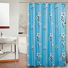 Verdickung Duschvorhang Wasserdicht Moldy Thick Badezimmer Badezimmer Trennwand Polyester Vorhänge ( größe : 260*200cm )
