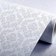 Verdickung Pastorale Tapete selbstklebende tapete hintergrundbild wasserdicht klebrige papierklebebandkleber selbstklebende tapete, 500 * 60 cm, N