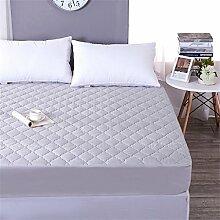 Verdickung Wasserdichte Matratze Schutzhülle / Matratzenschutz Matte ( Farbe : Grau , größe : 120*200cm )