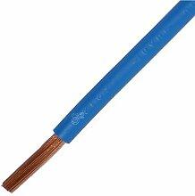 Verdrahtungsleitung H07V-K 4 mm² blau