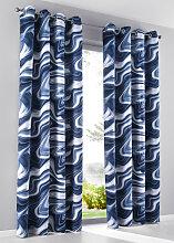 Verdunkelungs-Vorhang Diego (1er-Pack), blau (H/B: