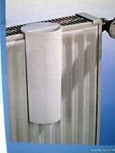 Verdunster für Flachheizkörper, Kunststoff, WEISS ca. 10 x 23 cm