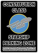 Verfassung Class Parking Zone–Metall