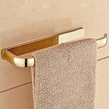 Vergoldete Messing Badezimmer Handtuchhalter, Handtuchhalter Ring, 26,5 * 9 * 2,5 Cm